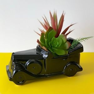 Vintage Old Car Planter